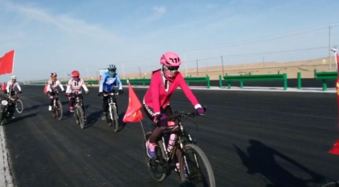 独立团户外徒步暴走骑行俱乐部:骑行活动--金塔羊井子湾葡萄基地