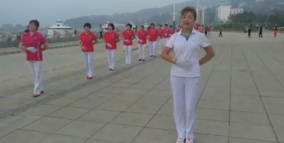 莱州第六套快乐舞步健身操第六节《拍击运动》