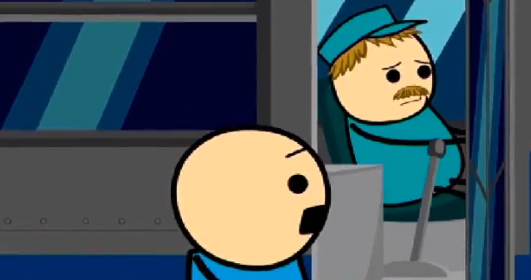 搞笑动画视频《等车》,寓意深刻