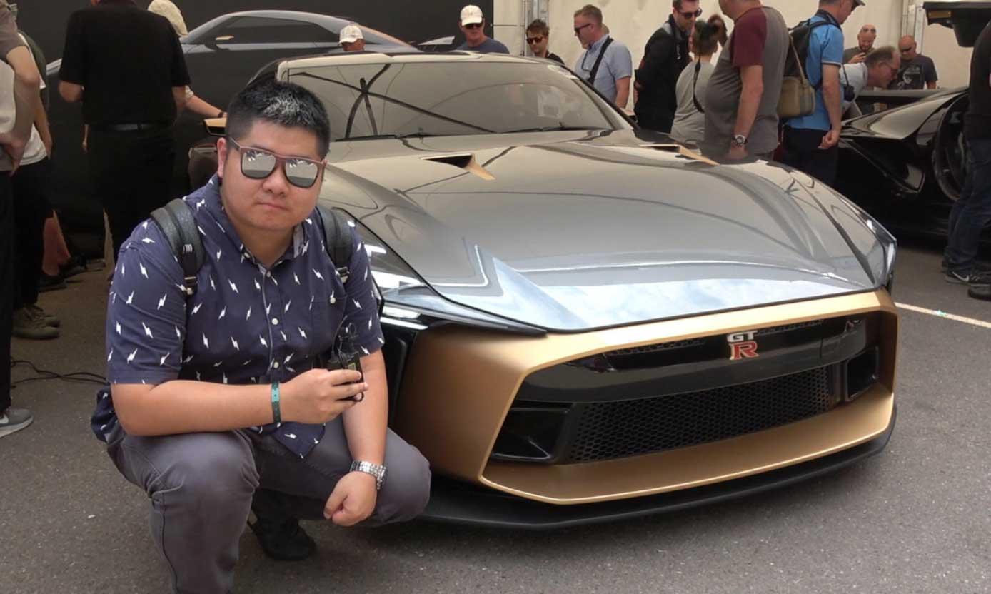 【每天一款实拍车】古德伍德速度节 二师兄聊日产GT-R50