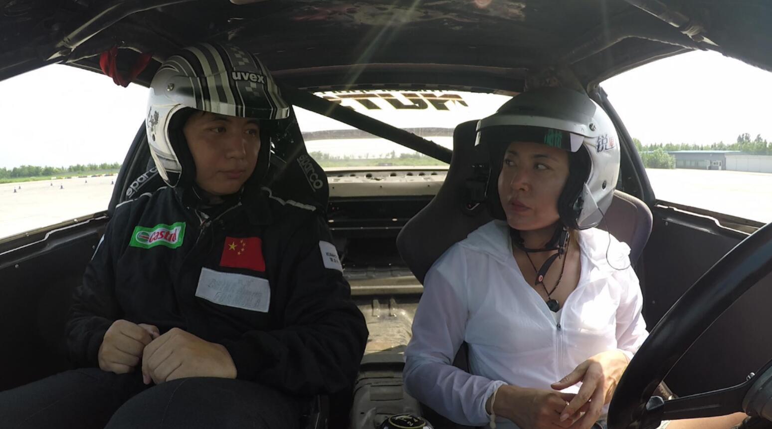 【老司机玩车】女司机学漂移,半天吓死老师傅
