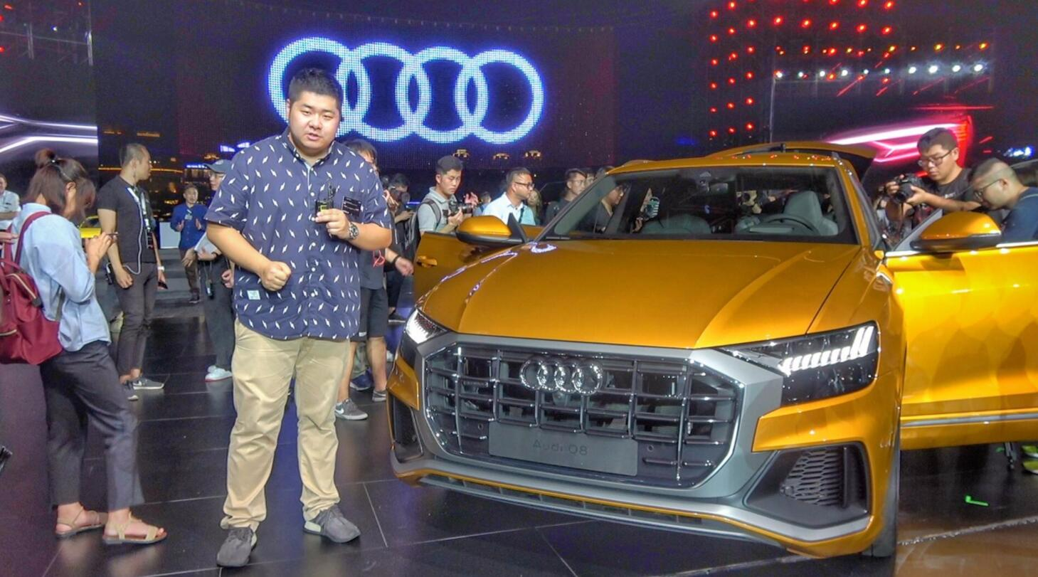 【每天一款实拍车】 二师兄带你看奥迪最新旗舰SUV Q8