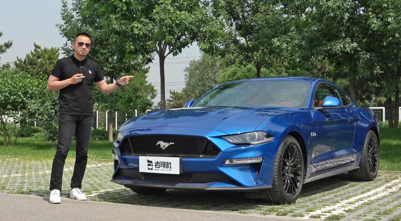 【每天一款实拍车】胡正阳聊福特Mustang,这是5.0升大V8版本哦!