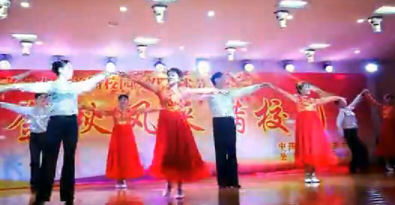 岳阳大老年大学艺术文化节表演