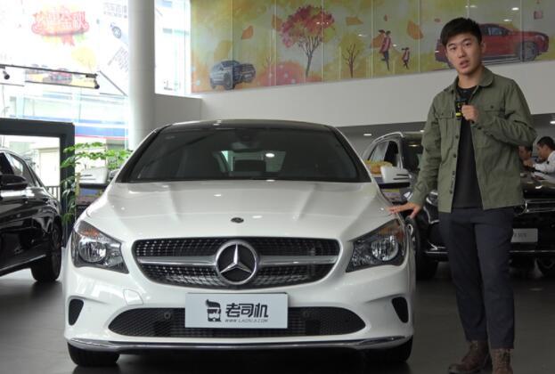 【每天一款实拍车】20多万的豪华品牌轿跑,黄磊聊奔驰CLA