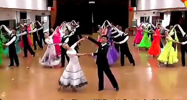 教你学《交谊舞表演动作分解》