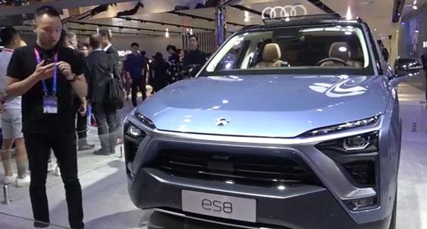 【2018北京车展】胡正阳聊蔚来ES8六座版