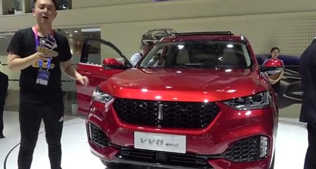 【2018北京车展】徐超聊WEY VV6