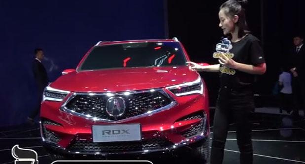 【2018北京车展】国产版讴歌RDX发布,外观与海外版无差