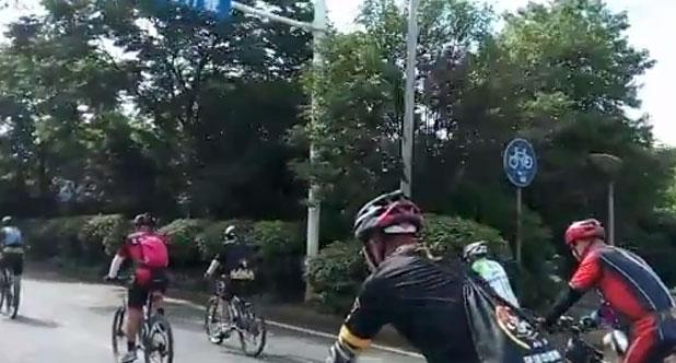 湘潭乐骑俱乐部骑行株洲大京水库