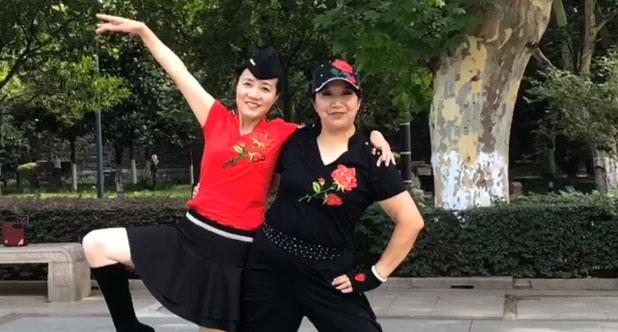 水兵舞第四套《兴霞—红旗》共舞