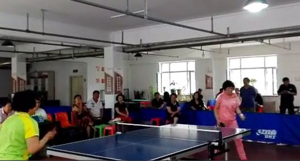 健康杯乒乓球赛决赛