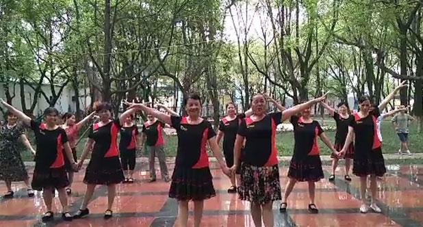 草原情哥哥广场舞  乌兰托娅