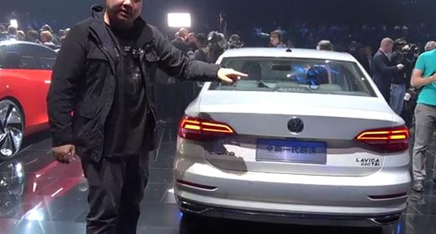 【2018北京车展】二师兄带你看大换代的国民神车:全新朗逸