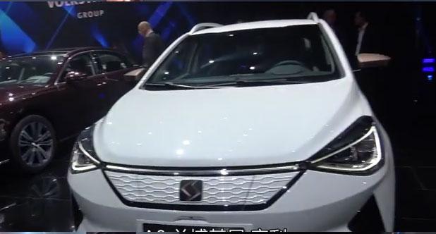 【2018北京车展】二师兄带你看一个全新物种:江淮大众 E20X
