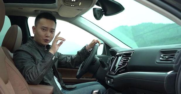 老司机试车:徐超试Jeep大指挥官,大7座动力强