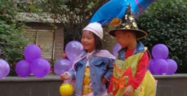 幼儿园丅台秀