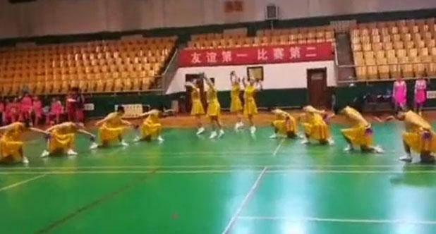 请欣赏淄博市老年人健身球