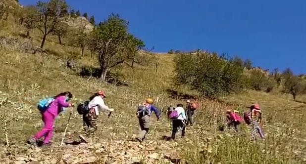 徒步石门山