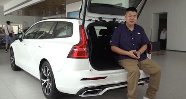【每天一款实拍车】二师兄带你看刚刚上市的全新沃尔沃V60