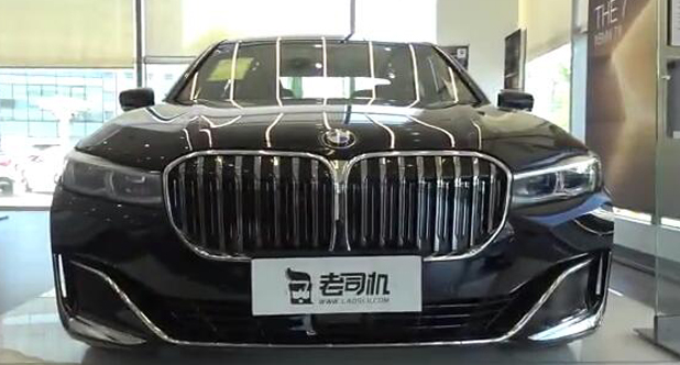【每天一款实拍车】小两百万的宝马750Li,4.4T V8汽油机版本